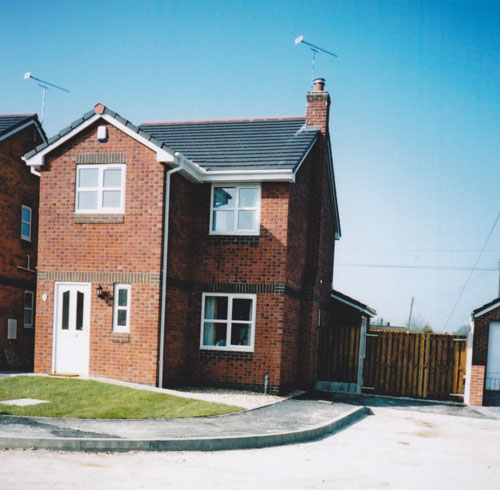 New Builds In Wrexham Area